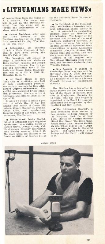 M. Starkus – radijo žurnalistas