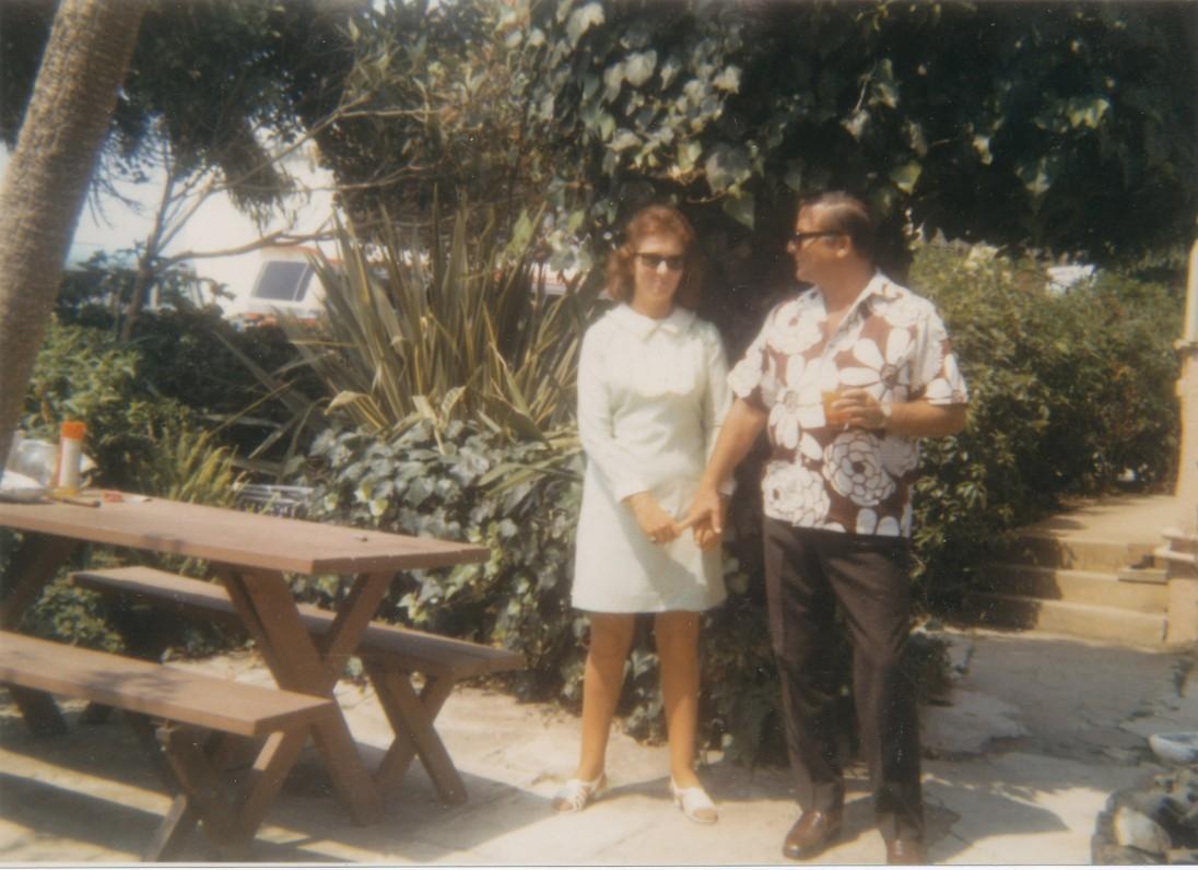 M. Starkus su žmona Aldona Kvedaraite-Stark