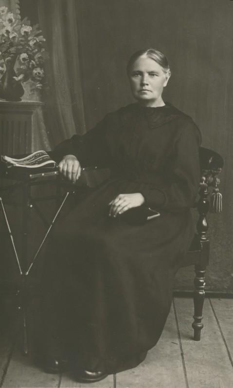 Marcelė Mačiulytė (1864–1958). E. Zolino nuotrauka | Marcelė Mačiulytė (1864–1958)