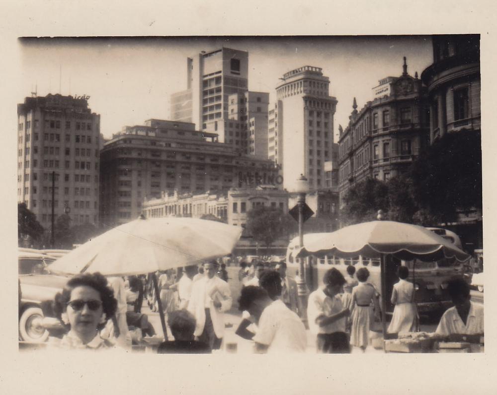 Miesto aikštės fragmentas. Brazilija, apie 1946–1950 m.