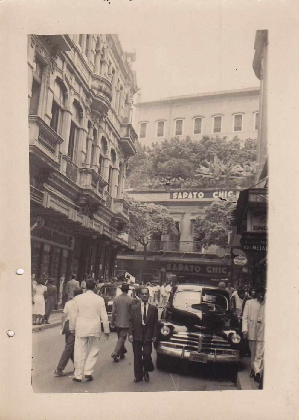 Miesto centro fragmentas. Brazilija, apie 1946–1950 m.