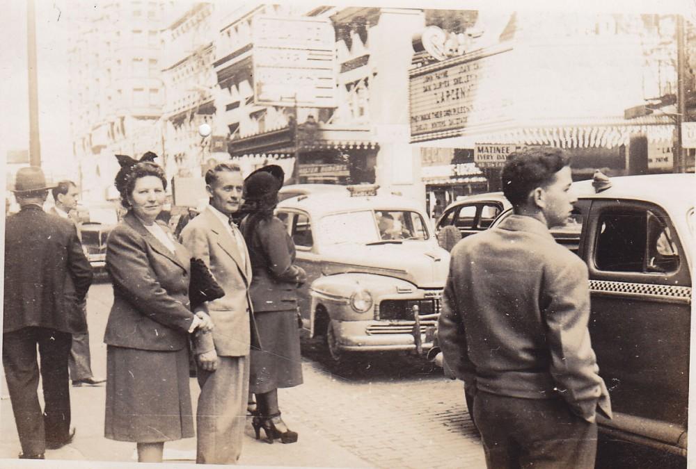 Miesto gatvės fragmentas. Brazilija, apie 1946–1950 m.