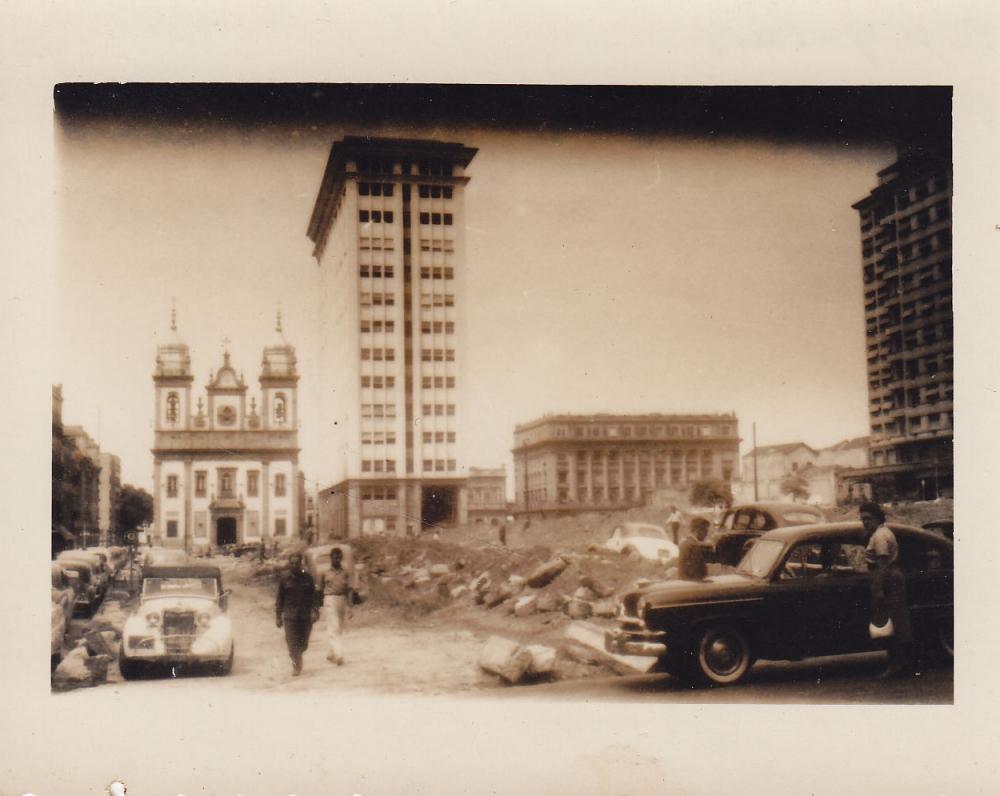 Miesto statybos. Brazilija, apie 1946–1950 m.