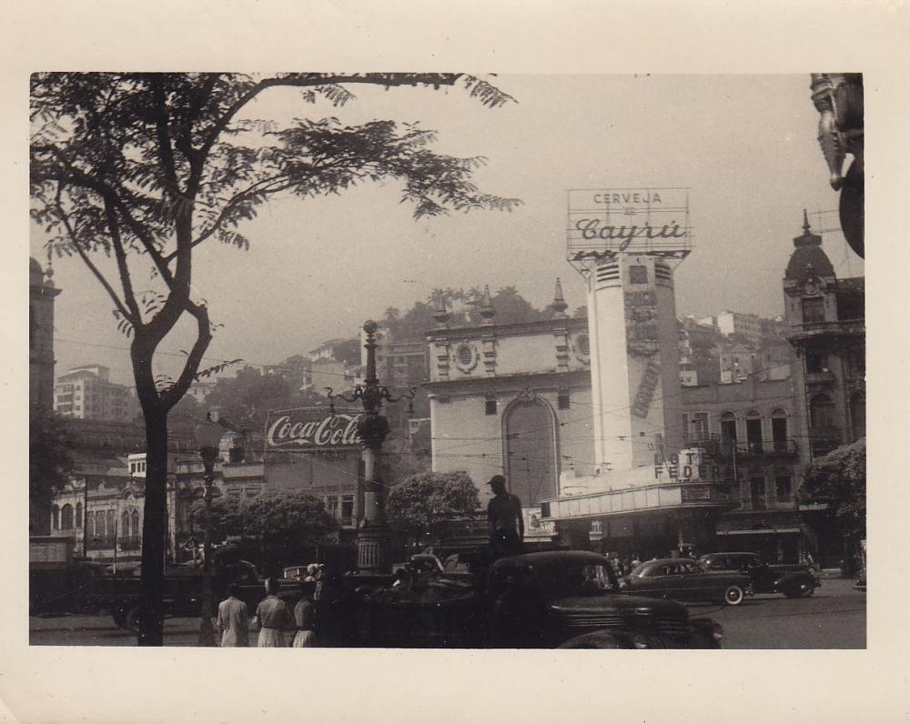 Miesto vaizdas. Brazilija, apie 1946–1950 m.