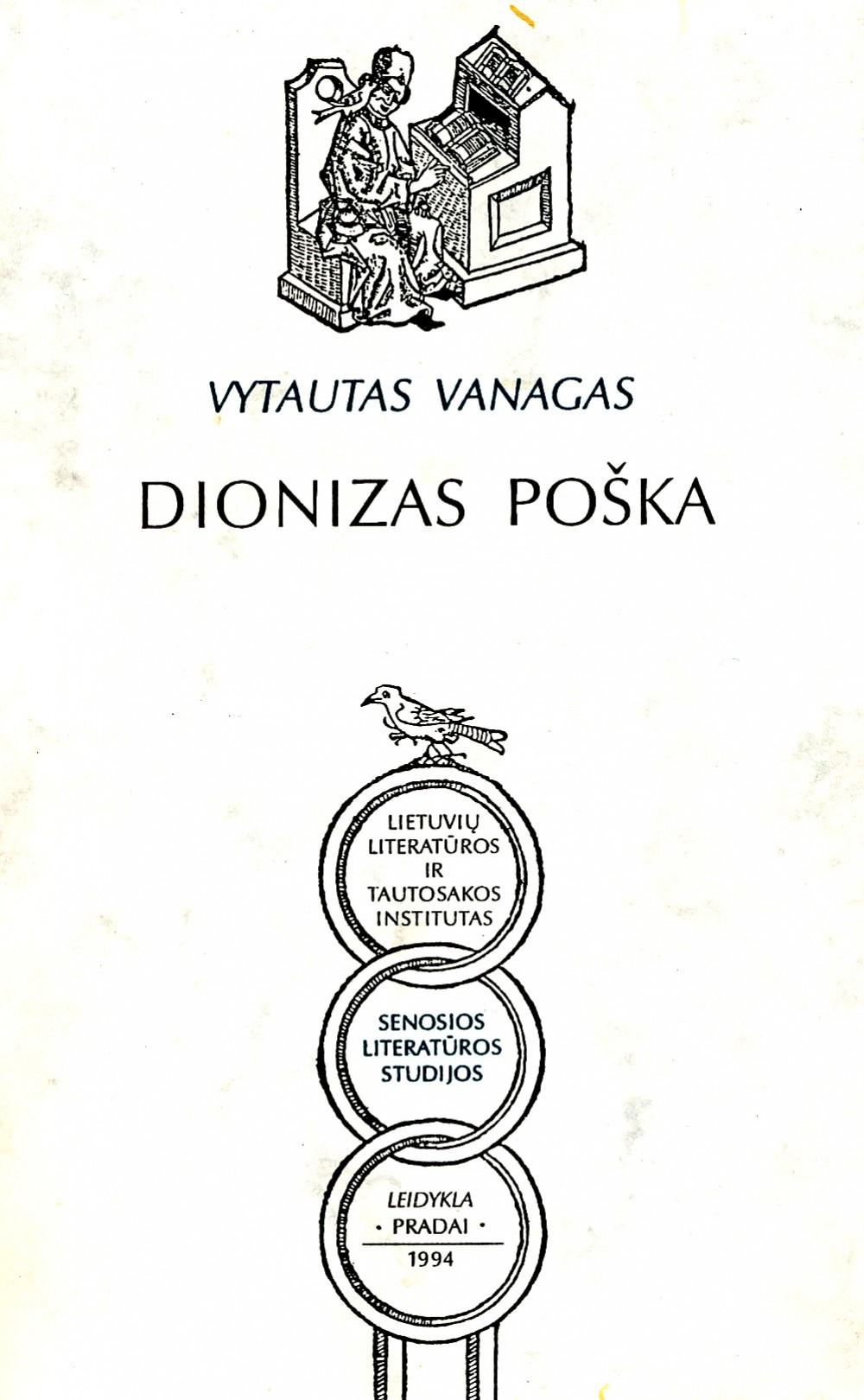 Monografija apie D. Pošką