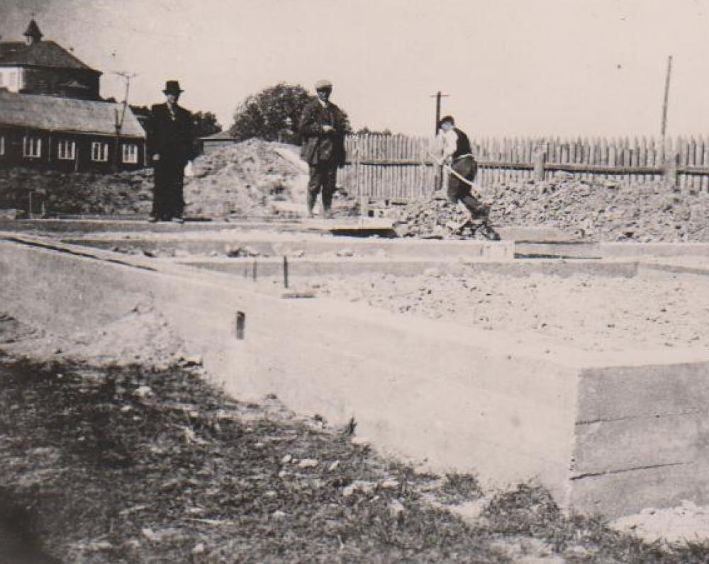 Namo statybos. Kaunas. 1938 m. pavasaris