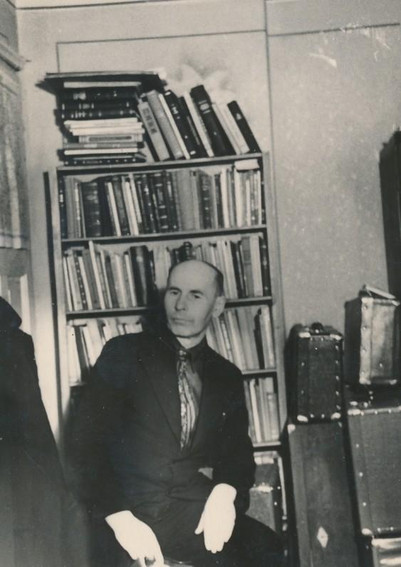 Namuose Kaune, K. Būgos g. Apie 1975 m.