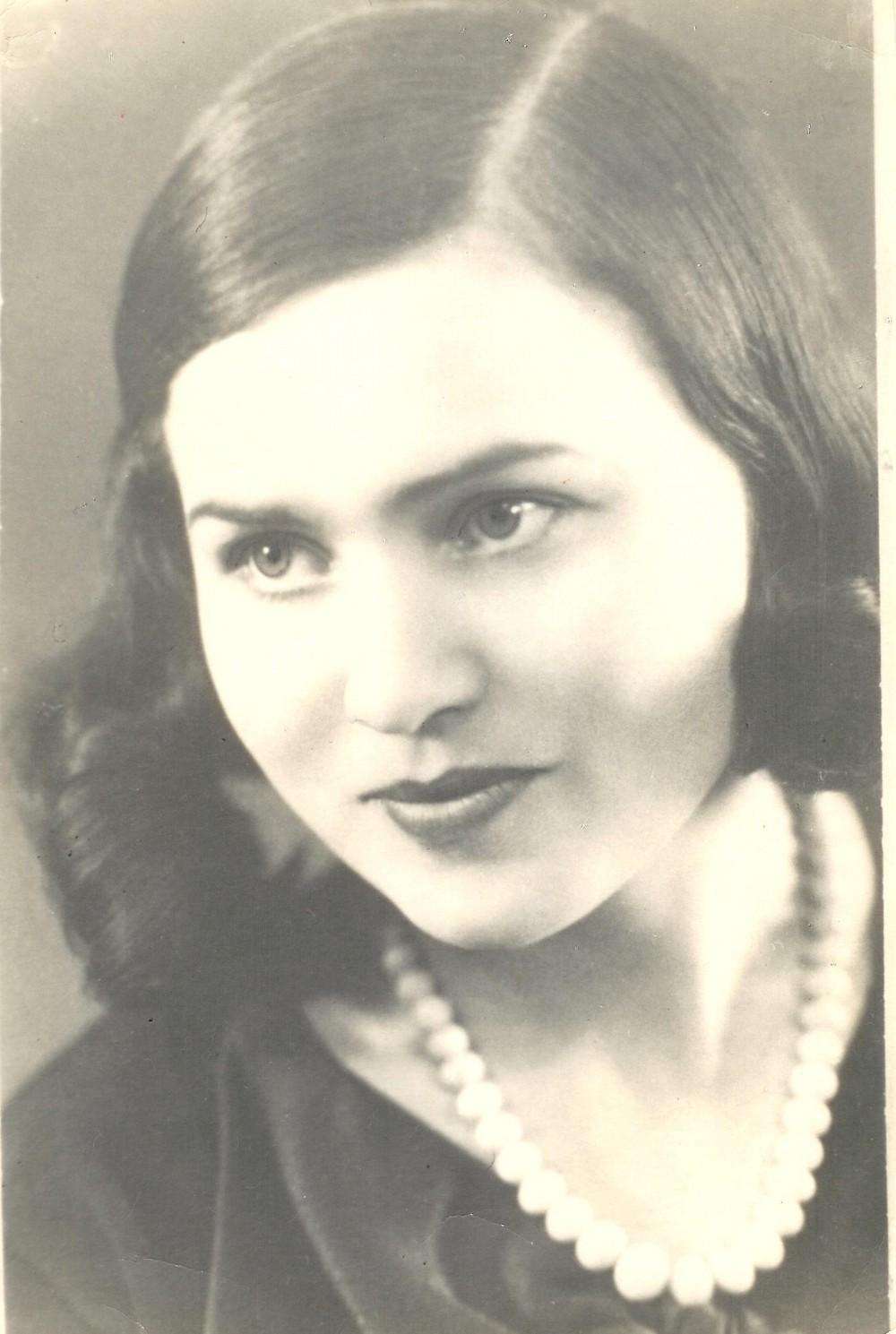 Nuotrauka su dedikacija S. Čiurlionienei. 1933 m. birželio 13 d.