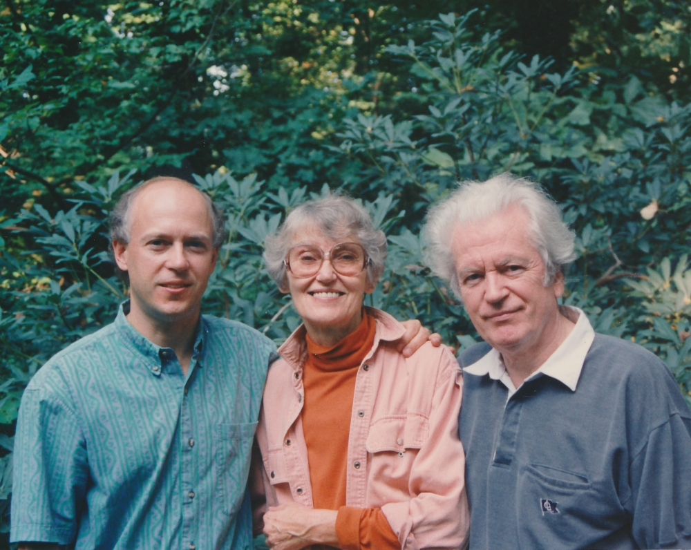 Ostrauskų šeima. 1993 m.