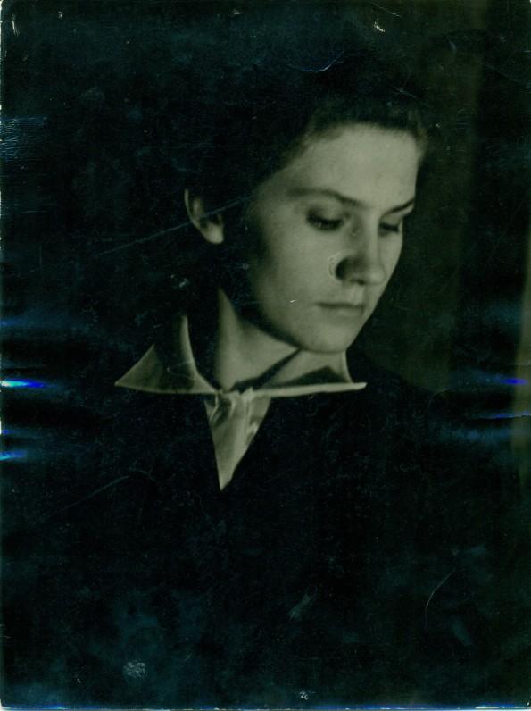 P. Širvio žmona Birutė. Apie 1955 m.
