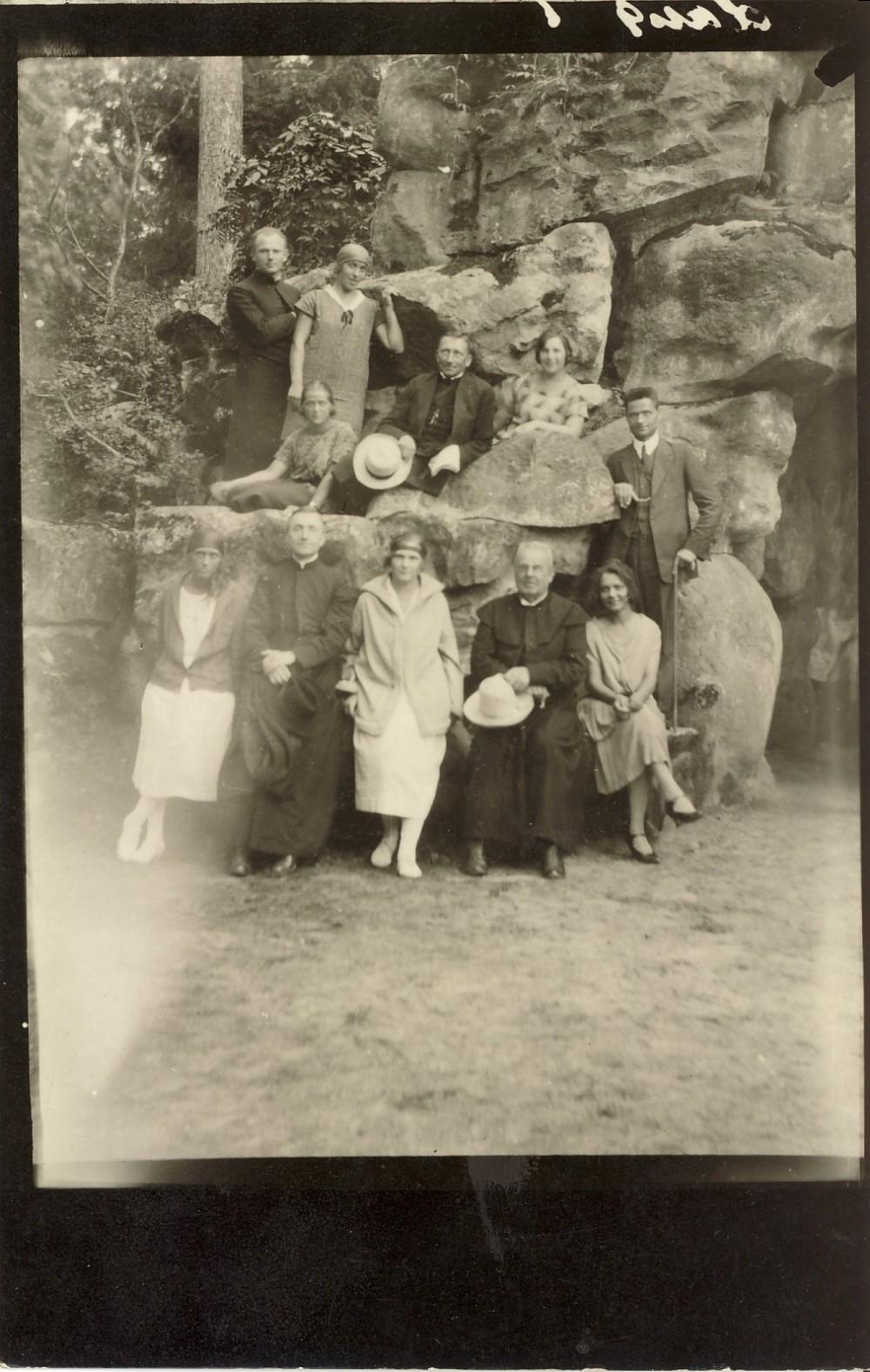 Palangoje. Apie 1925 m.
