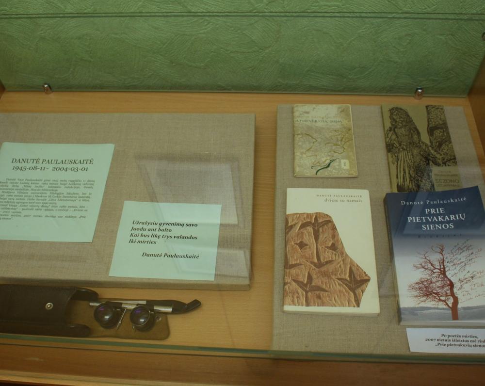 Paroda Danutei Paulauskaitei Skuodo muziejuje