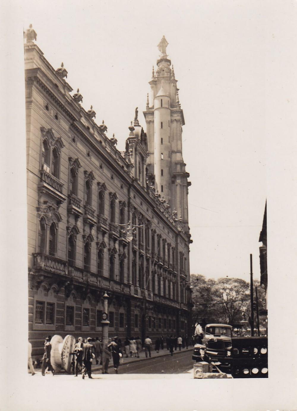 Pastato fragmentas. Brazilija, apie 1946–1950 m.