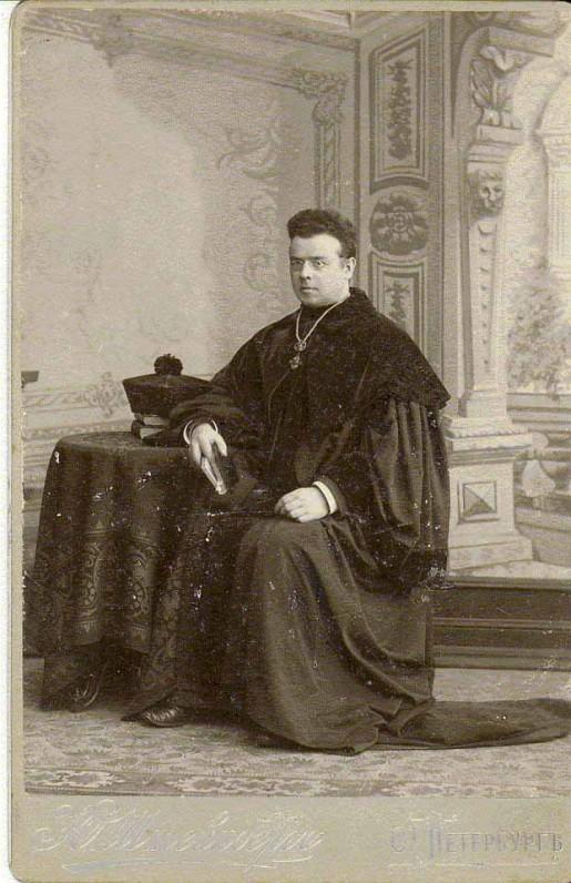 Peterburge. 1903 m.