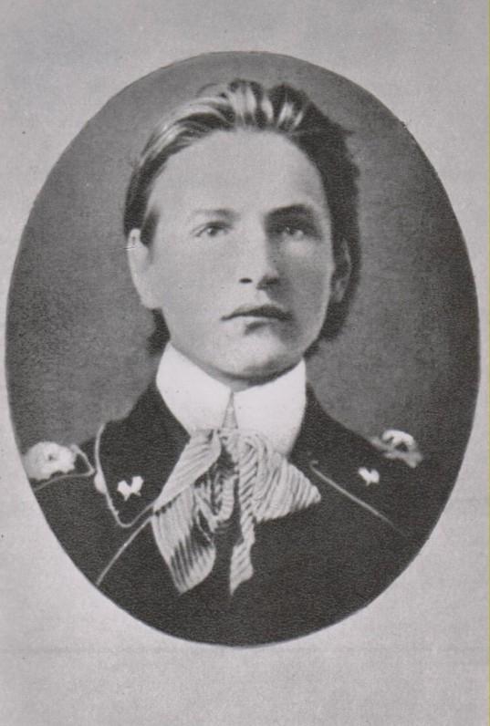Petrogrado Miškų instituto studentas. 1915 m.