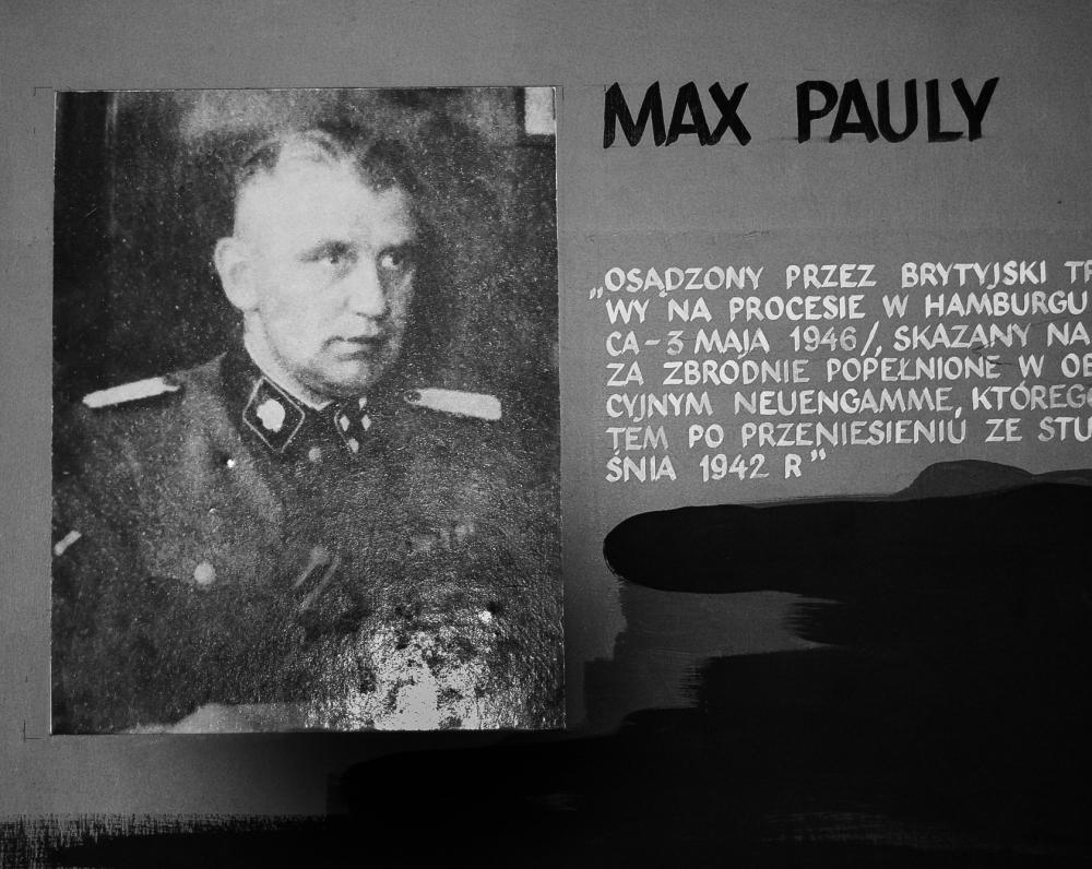Pirmasis lagerio komendantas Max Pauly