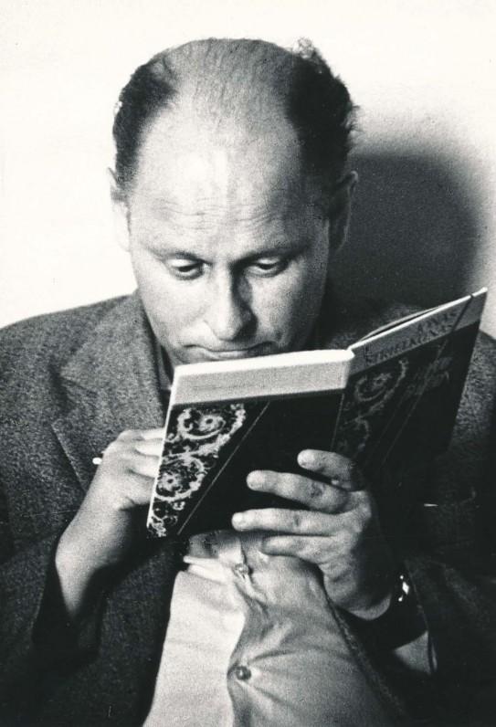 Poetas. 1981 m. O. Pajedaitės fotografija
