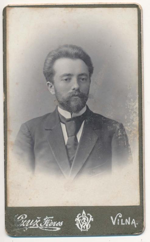 Povilas Višinskis. Vilnius, 1905 m.