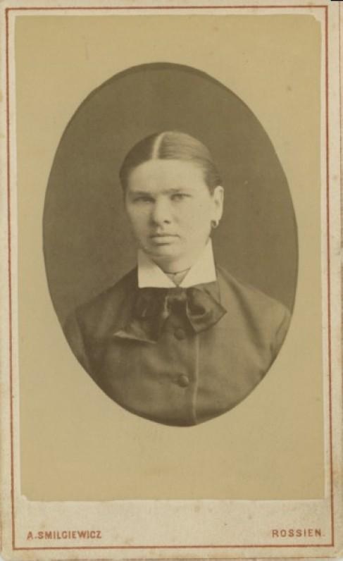 Pranciška Mačiulytė (1860–1942) | Pranciška Mačiulytė (1860–1942)
