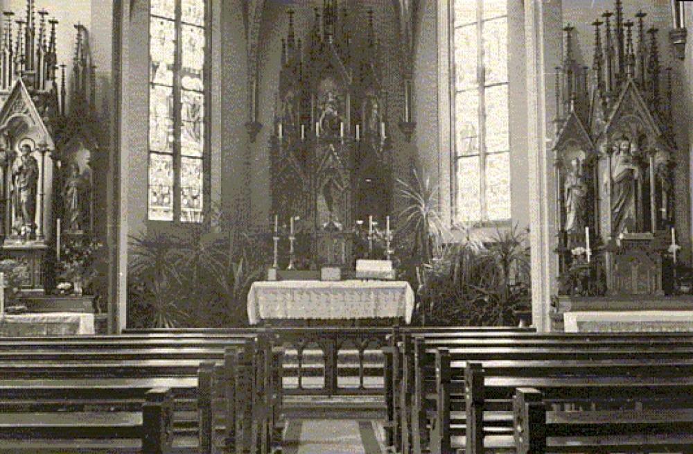 Ravensburgo koplytėlė, kurioje lietuviai meldėsi