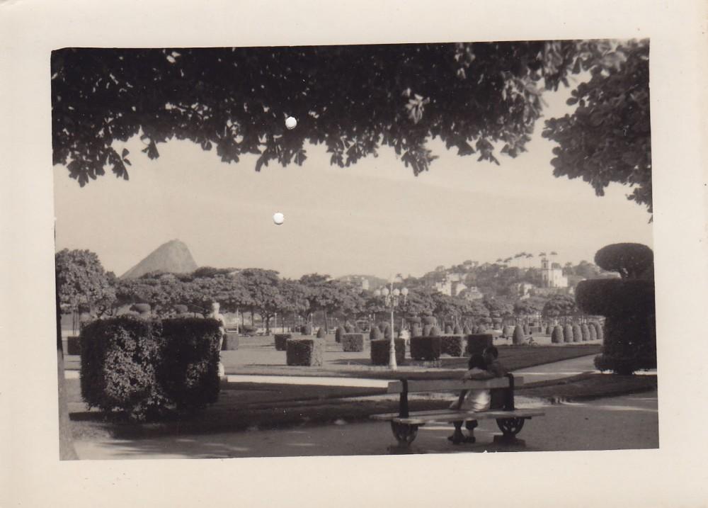 Rio de Žaneiro parkas. Brazilija, apie 1946–1950 m.