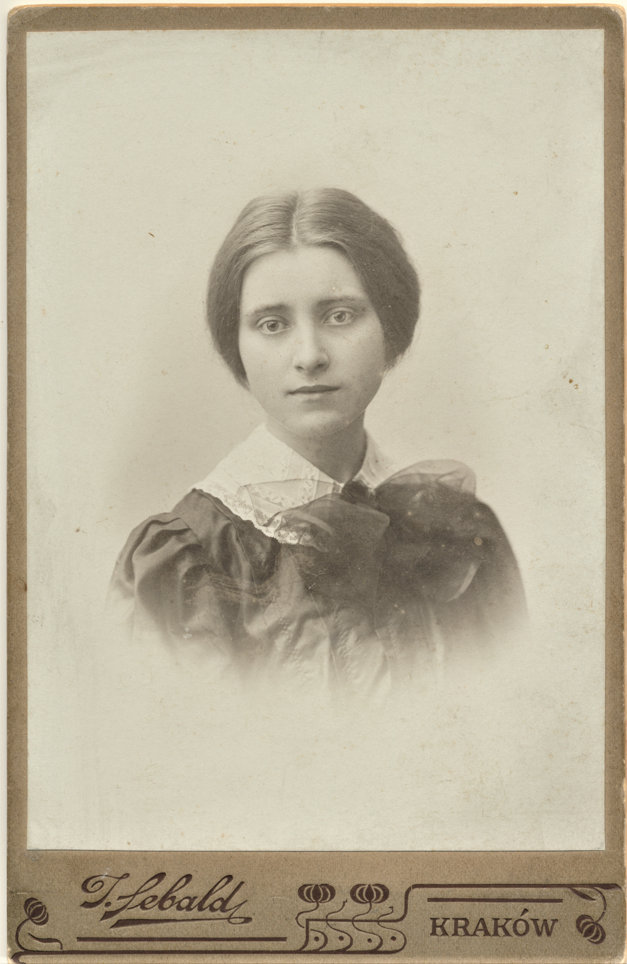 S. Kymantaitė. Krokuva, 1907 m.