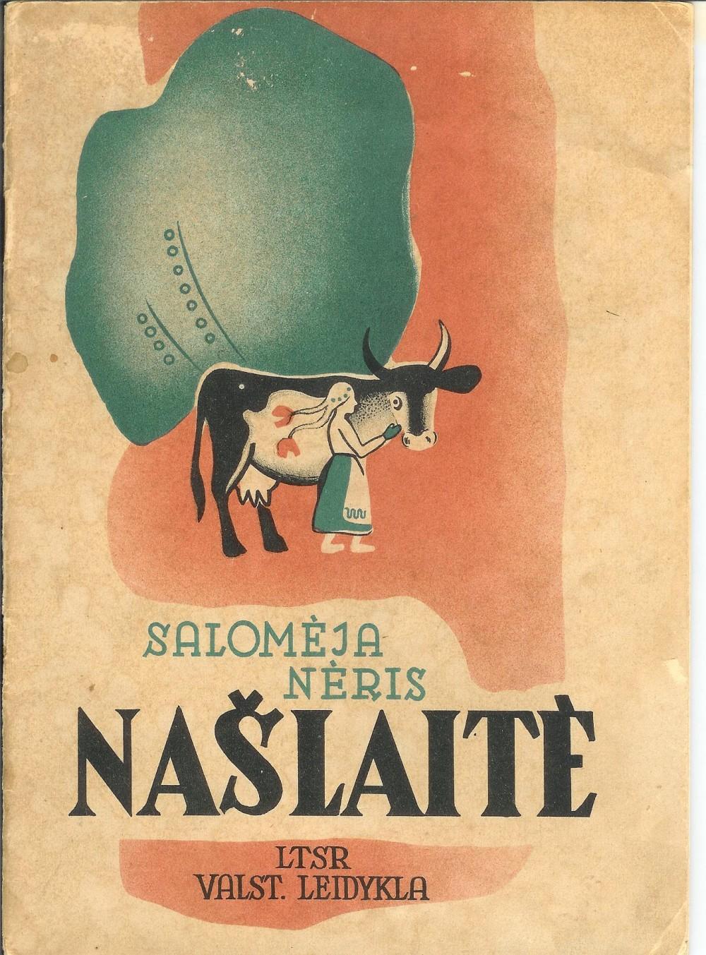 "S. Nėries eiliuota poema ""Našlaitė"". 1940 m."