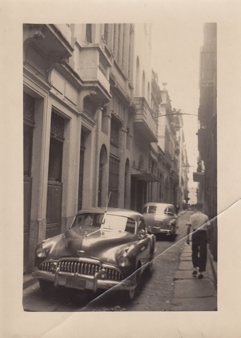 Senamiesčio gatvelė. Brazilija, apie 1946–1950 m.