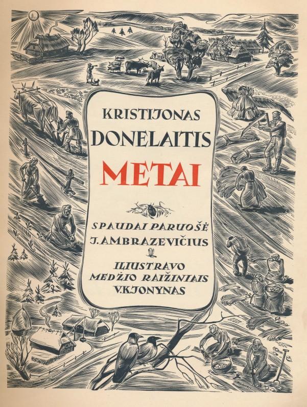 Spaudai paruošė J. Ambrazevičius, iliustravo V. K. Jonynas. Kaunas. 1940 m.