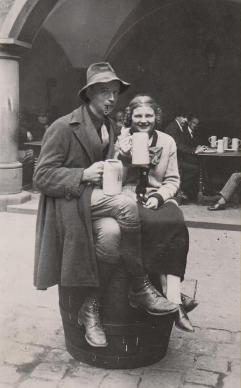 Su Jadvyga Čarneckaite. Miunchenas, 1923 m. vasara