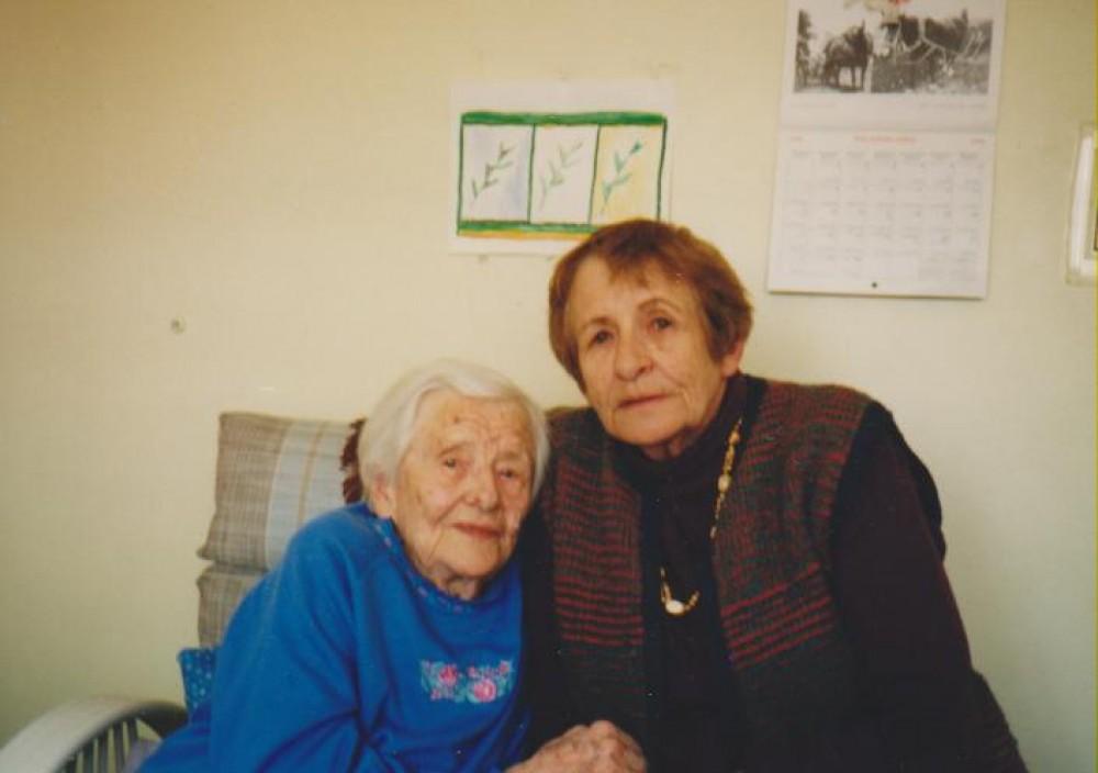 Su V. Daugirdaite-Sruogiene. JAV, 1995 m.