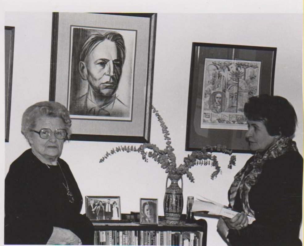 Su Vanda Daugirdaite-Sruogiene. Čikaga, 1978 m.