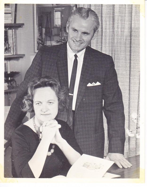 Su vyru Edmundu Arbu. 1963 m.