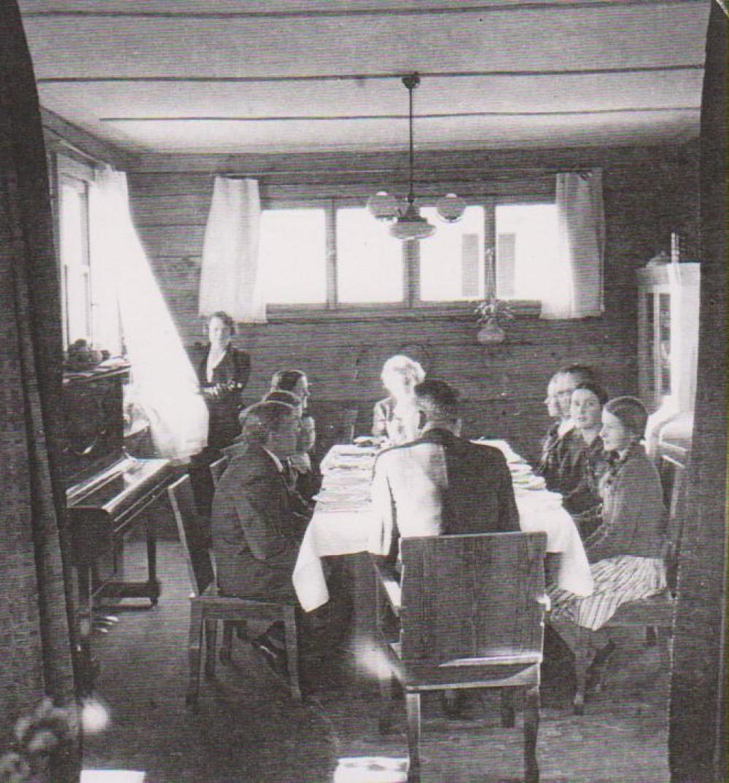 Svetainės fragmentas. Kaunas. 1938 m.