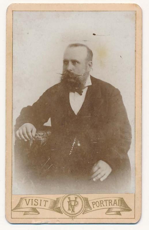 Tėvas Leonas Kymantas (1842–1919). V. Mongirdo nuotrauka. Palanga, 1883 m.