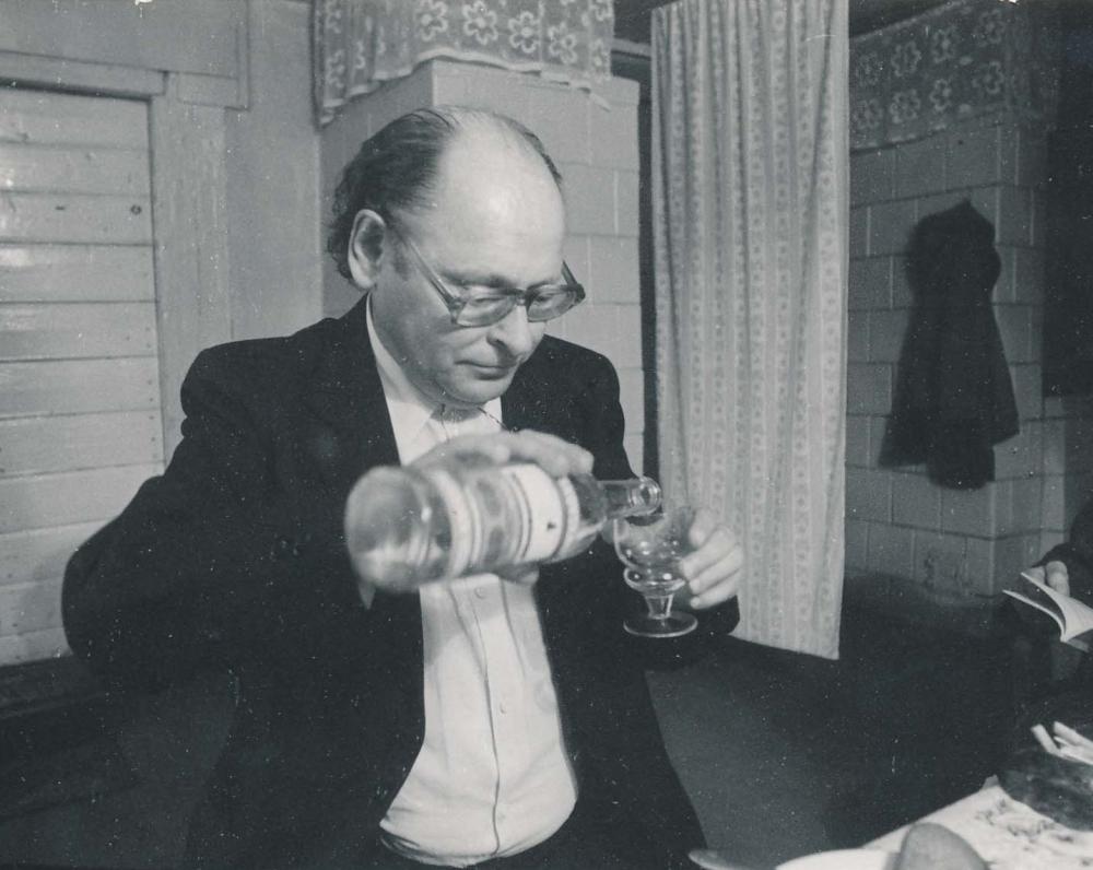 Tėviškėje. 1984 m. R. Rakausko fotografija