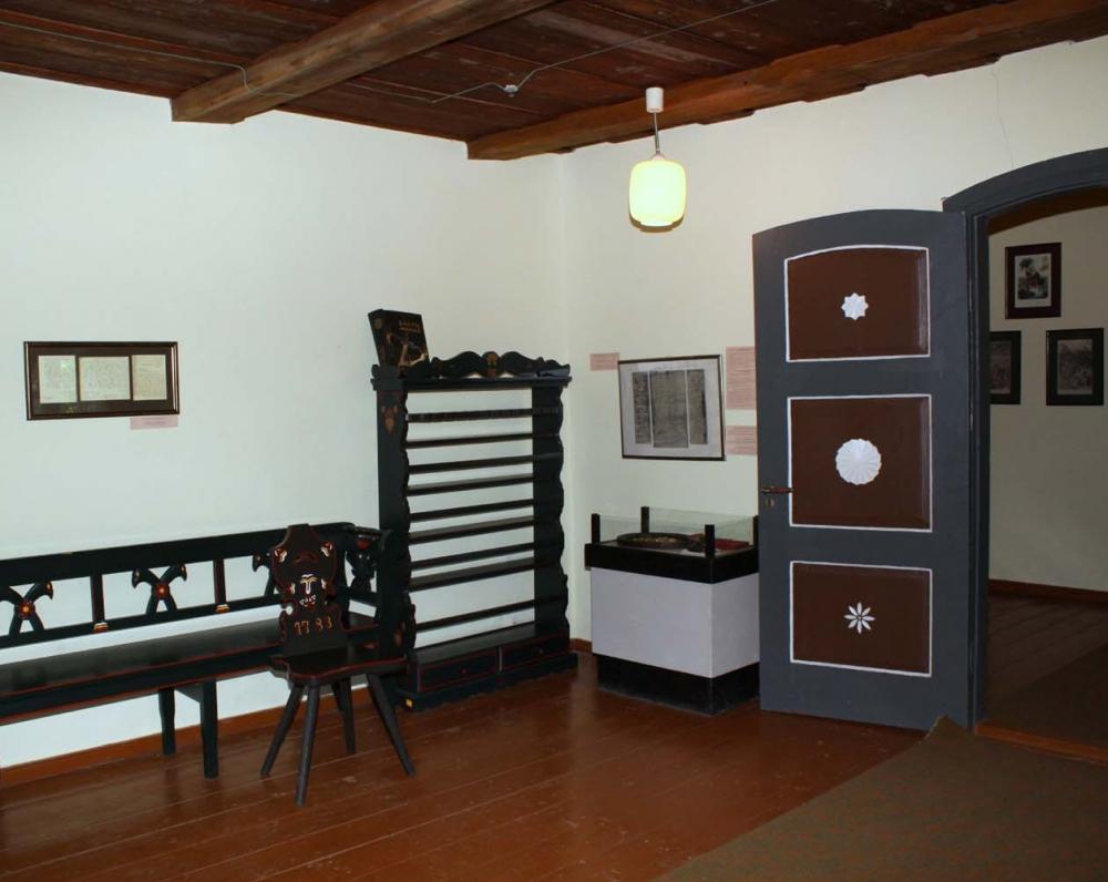 Tolminkiemio klebonijoje 2002 m. atidaryta ekspozicija