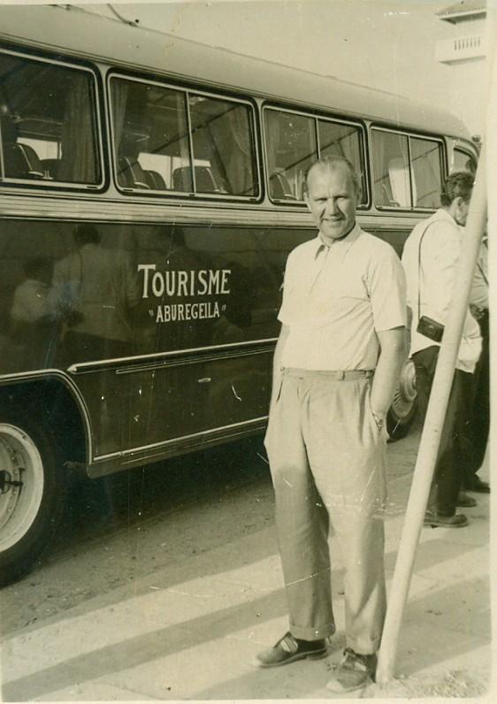 V. Miliūnas. Egiptas, 1958 m.
