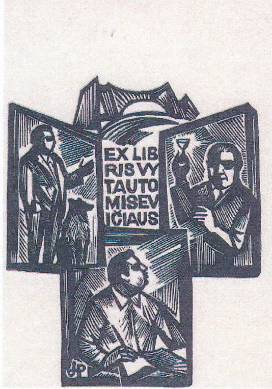 V. Misevičiaus exlibris 3