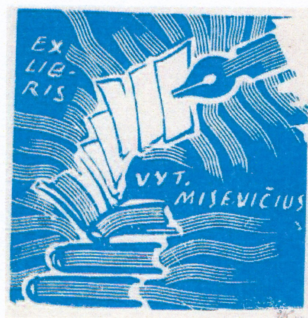 V. Misevičiaus exlibris
