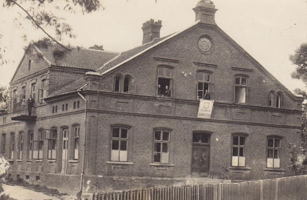 """Vilkaviškio """"Žiburio"""" gimnazija, kurioje 1919–1924 m. mokėsi S. Bačinskaitė"""