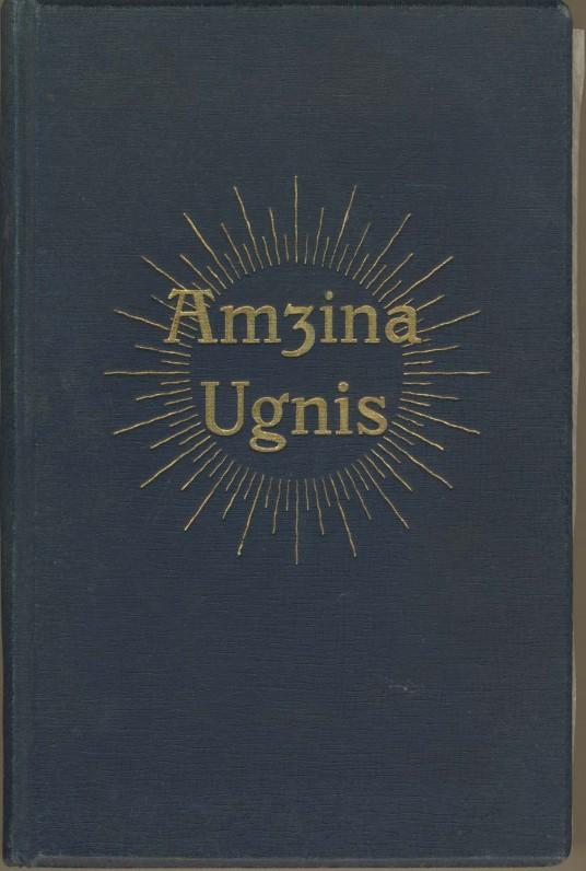 """Vydūnas. Dramų trilogija """"Amžina ugnis"""". Tilžė, 1912–1913 m."""