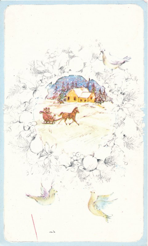 Z. Tenisonaitės Kalėdų ir Naujųjų metų sveikinimas olandų kalba A. ir S. Santvarams, Belgija, 1979 m.