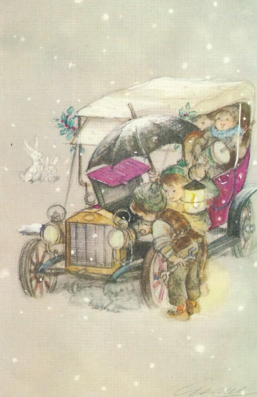 Z. ir J. Hellemans Kalėdų ir Naujųjų metų sveikinimas olandų kalba S. Santvarui, 1978 m.