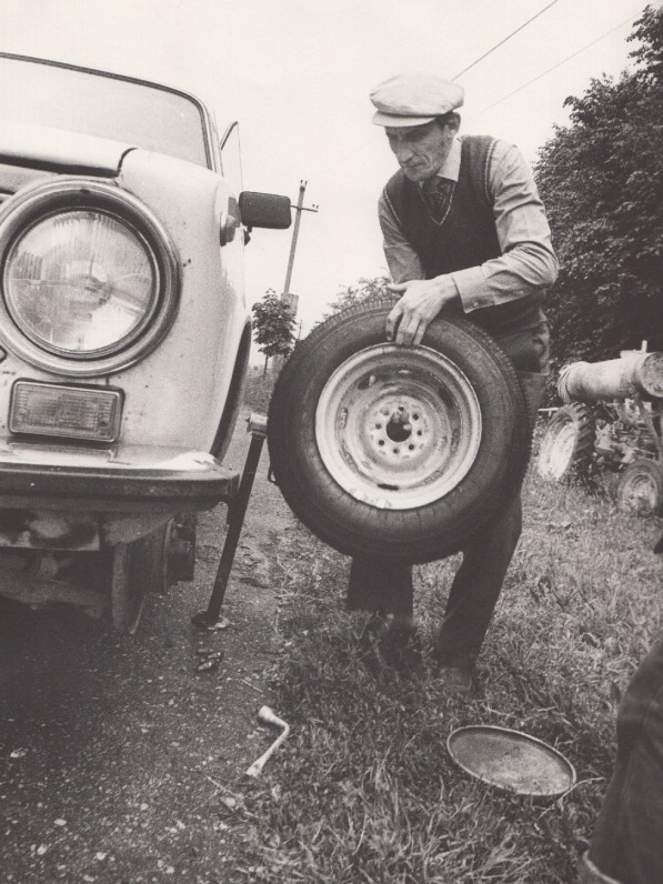 1984 m. R. Rakausko nuotrauka