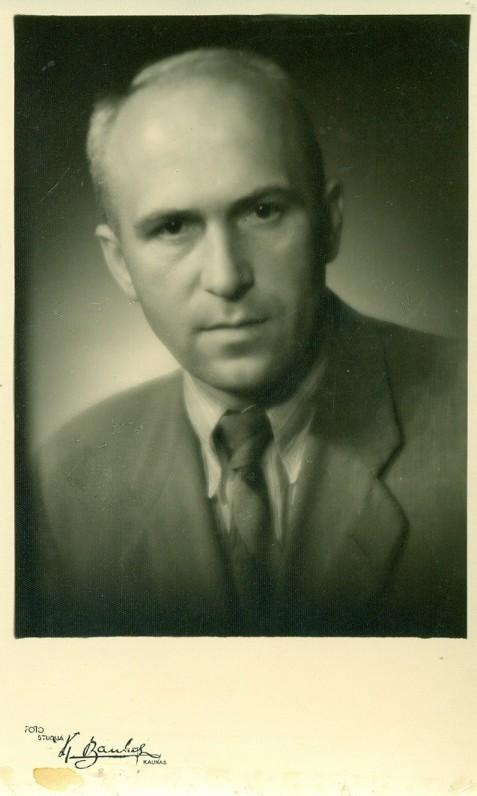 A. Žukauskas. Kaunas, 1940 m.