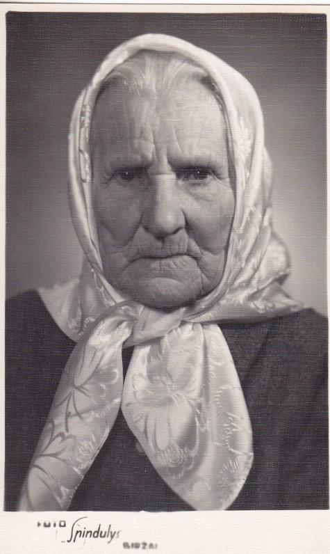 Elžbieta Jašinskaitė-Mekienė – Jono ir Adolfo Mekų motina