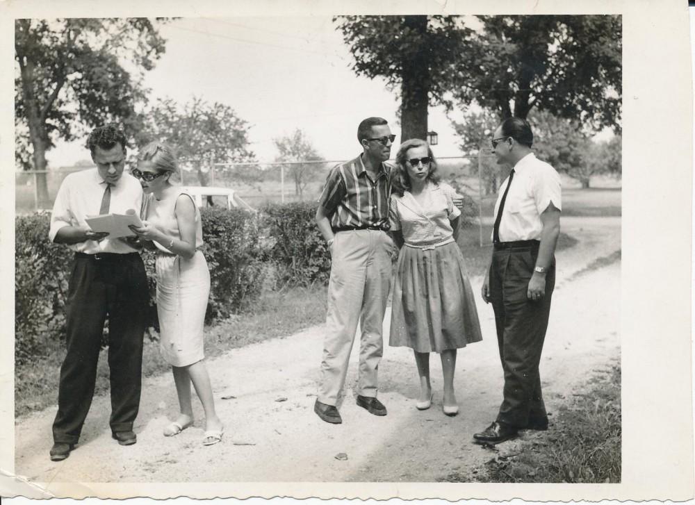 H. Nagys, D. Juknevičiūtė, A. Škėma, Z. Nagytė-Katiliškienė ir A. Mackus