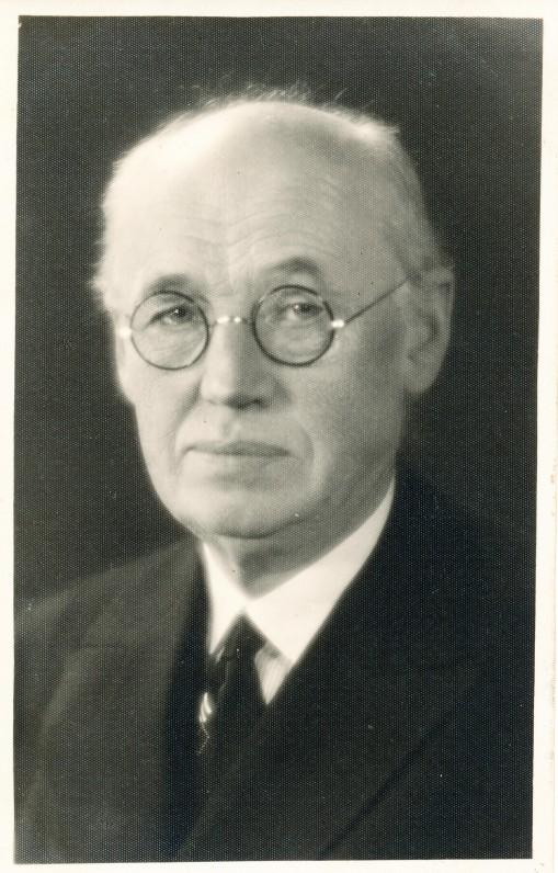 J. Lindė – Panevėžio gimnazijos direktorius. 1930 m.