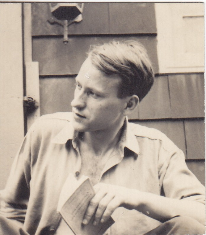 J. Mekas Niujorke, apie 1950 m.